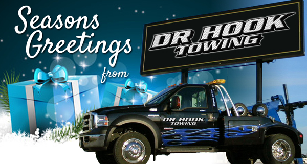 Season's Greetings from Dr. Hook Towing