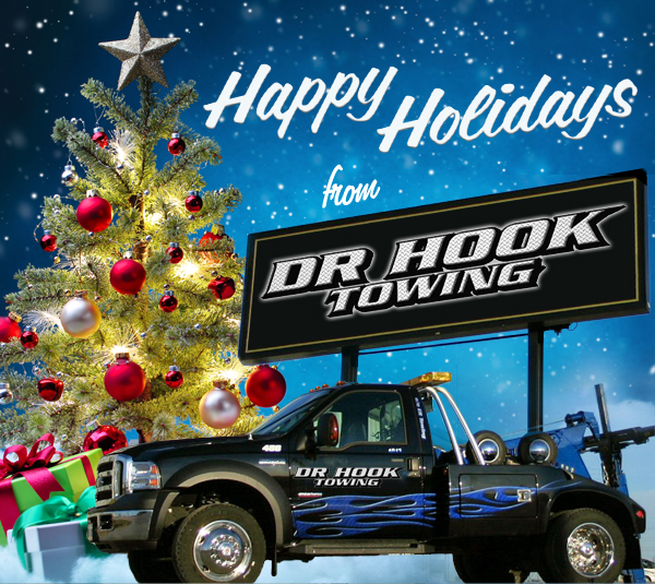 Happy Holidays from Dr. Hook Towing