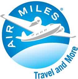 Earn Air Miles reward miles